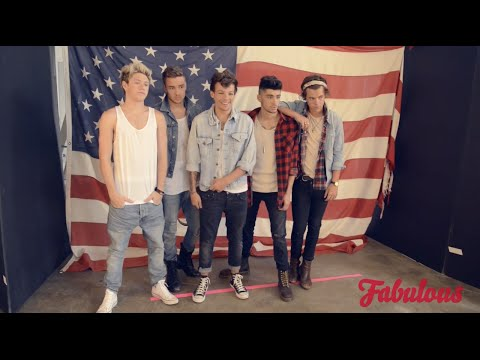 One Direction Fabulous Photoshoot 2013 Behind The Scenes HD