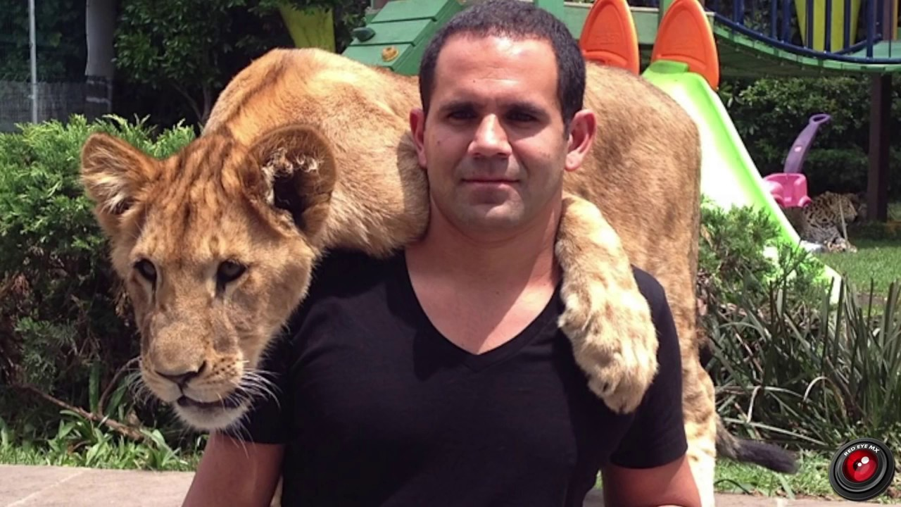 Eduardo Serio(Papa Bear) & The Black Jaguar White Tiger ... - photo#15