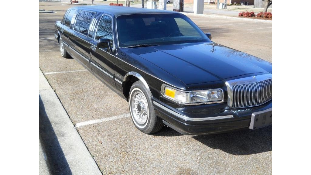 1995 Lincoln Town Car Limo Youtube