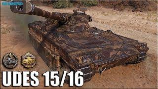 Как играют ТОП статисты на UDES 15/16 ✅ World of Tanks лучший бой