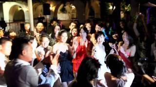 Alex & Tina' s Wedding: on the dance floor
