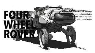 Concept Department: Four Wheel Rover sketch