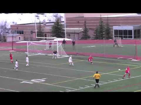 Highlights Steamboat Springs High School Girls Soccer vs Glenwood Springs, April 15th, 2014