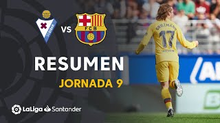Resumen de SD Eibar vs FC Barcelona (0-3)