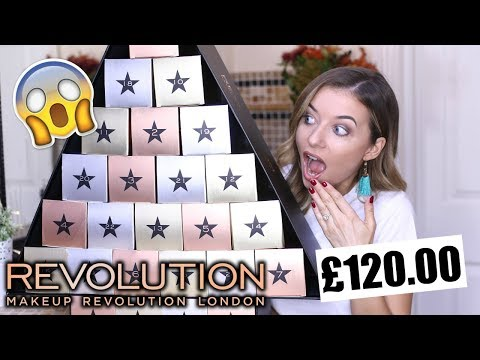 MAKEUP REVOLUTION ADVENT CALENDAR 2017 | *HUGE!*