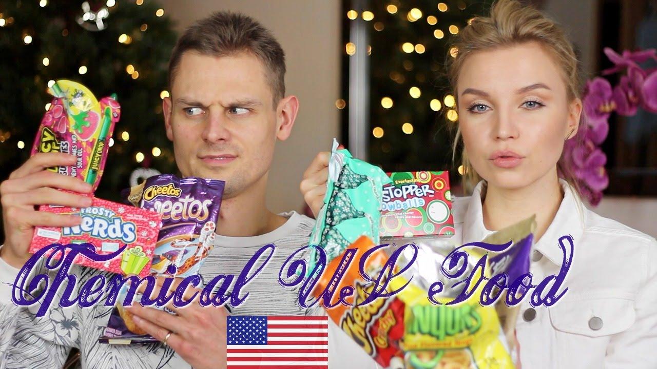 Пробуем Еду из Америки! Trying American Food!