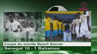 Mondial Beach Soccer: Senegal 10 - 1 Bahamas