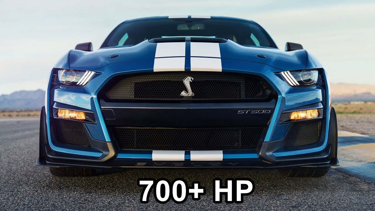 2020 Mustang Shelby Gt500 The Most Powerful Mustang Ever