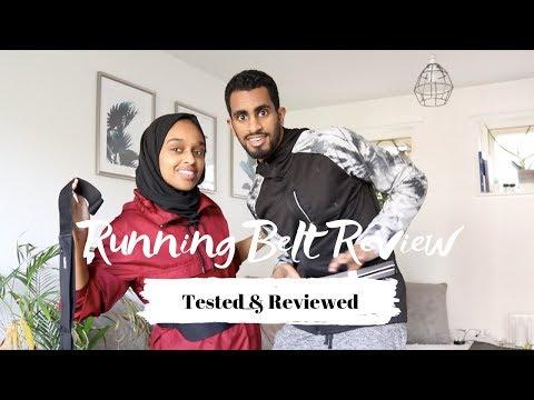 Best Running Belt Under £10 | Gym + Marathon Fitness Equipment