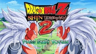 NEW DBZ SHIN BUDOKAI 2 AF MOD ISO V2 DOWNLOAD WITH NEW CHARACTERS