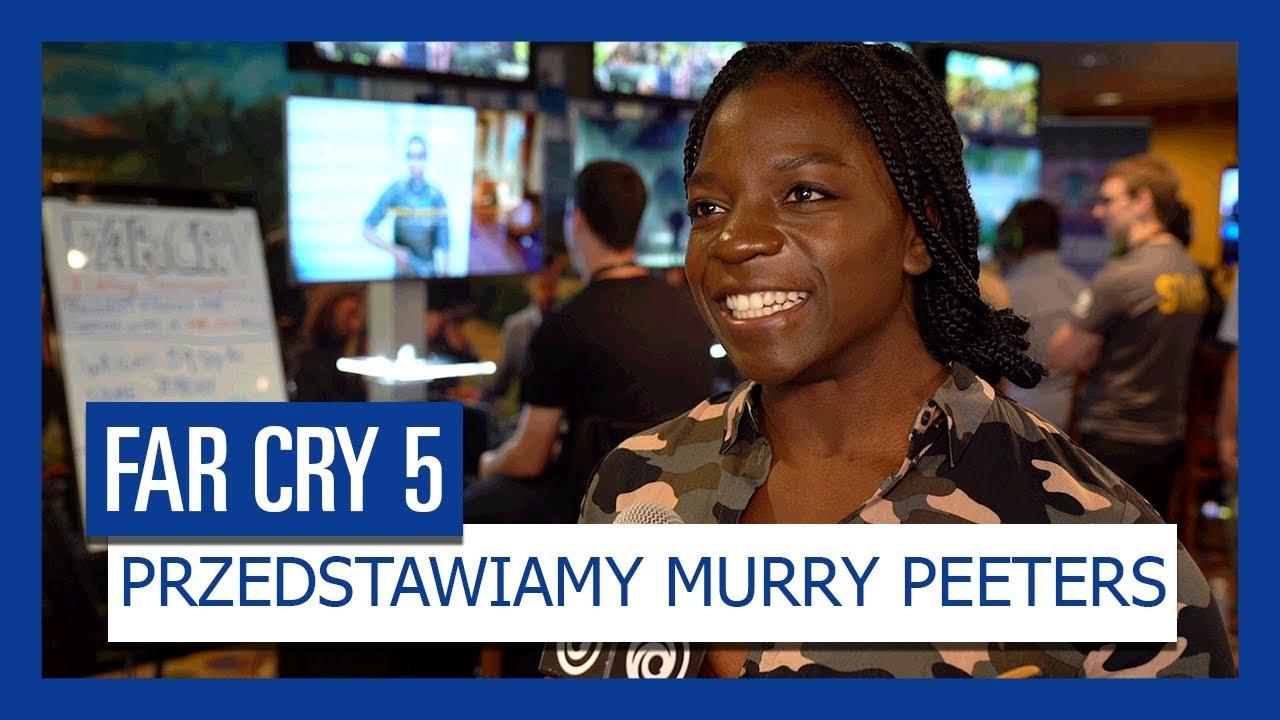 """""""Far Cry 5"""" – Przedstawiamy Murry Peeters, głos Grace Armstrong"""