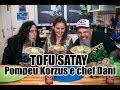 Tofu Satay com Marcelo Pompeu e Chef Dani | Panelaço do João Gordo