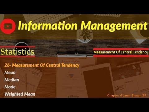 Information Management 12 (measurement part 4)