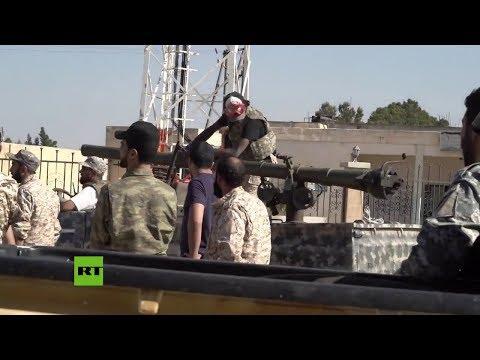 Enfrentamientos cerca del Aeropuerto Internacional de Trípoli
