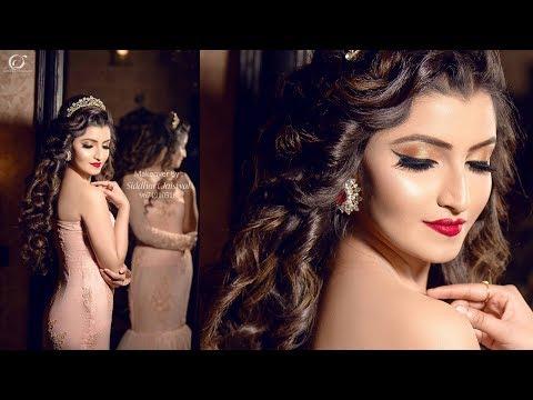 Indian Bridal/Party Princess Makeover   Makeup Artist Siddhart Jaiswal   Photographer LOukik Das  