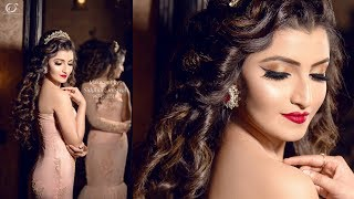 Indian Bridal/Party Princess Makeover | Makeup Artist Siddhart Jaiswal | Photographer LOukik Das |