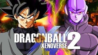 Time skip vs time ring! hit vs goku black (assassin vs rouge) gameplay! - dragon ball xenoverse 2