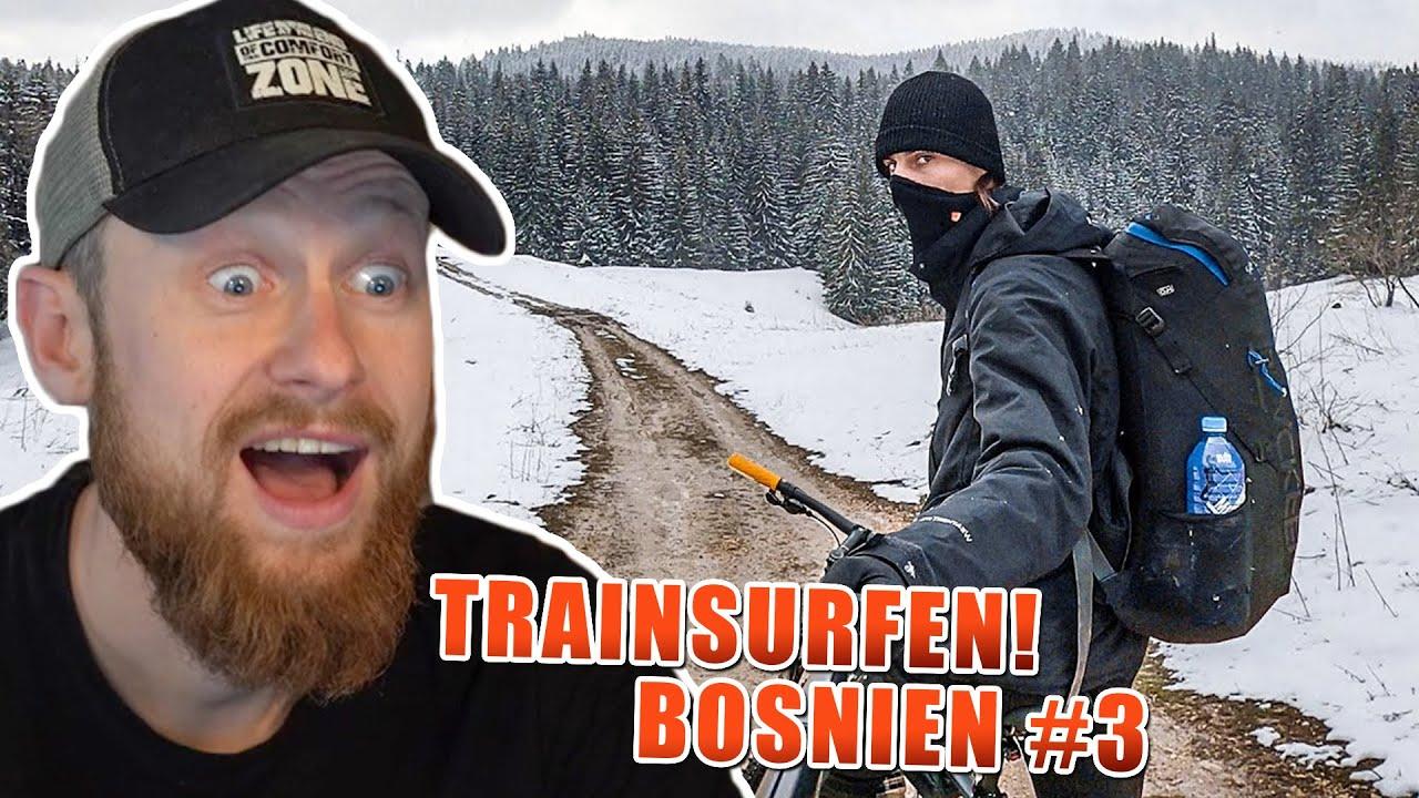 PLOTTWIST beim TRAINSURFEN durch BOSNIEN #3 | Fritz Meinecke reagiert auf Shiey