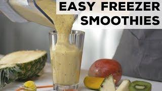 Easy Freezer Smoothies 5 Ways | Food Network