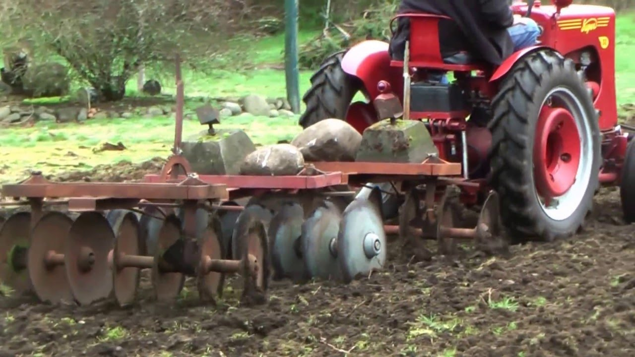 Gibson Garden Tractor Implements Youtube