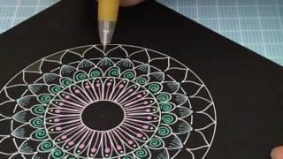 簡単に描ける 曼荼羅アート