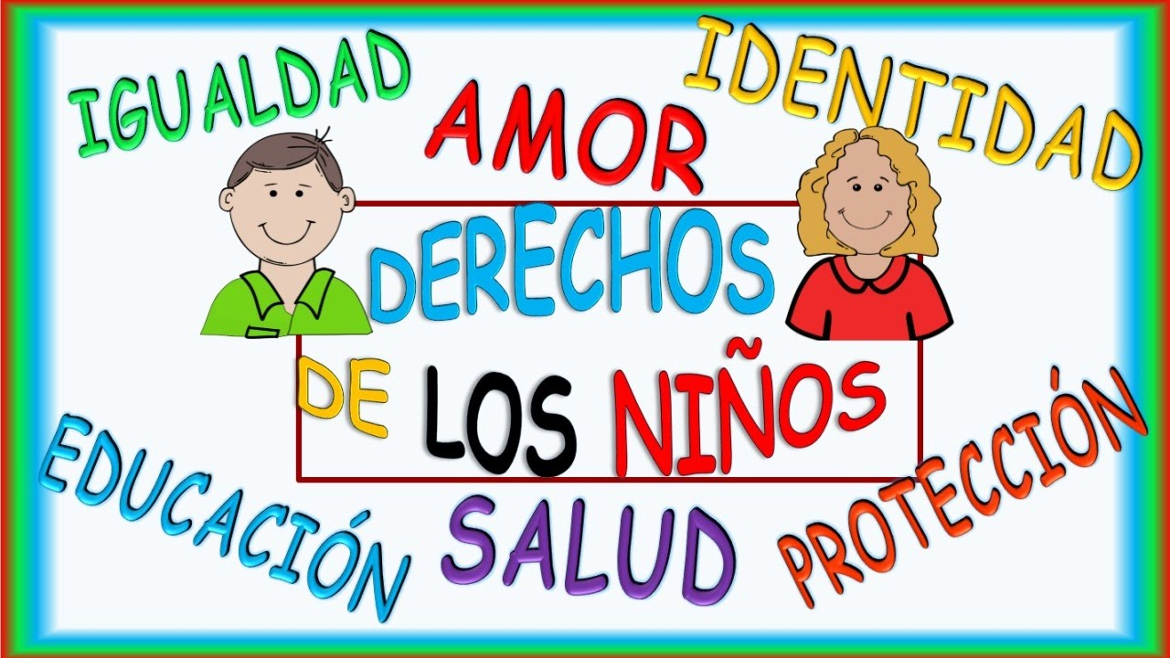 Derechos De Los Ninos Video Infantil Childrens Rights Video In Spanish Youtube