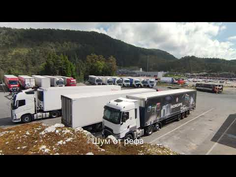 Ипподром Берген - TIR Parking - Trucker in Scandinavia