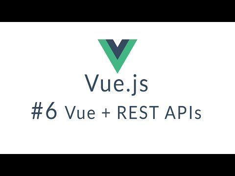 Vue Tutorial #6 - Full REST Example - YouTube