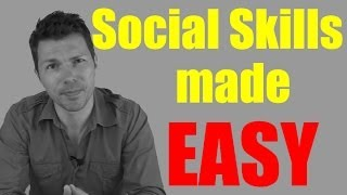 Social Skills Self Help Formula - How To Improve Social Skills In 3 Simple Steps! (Stephan Erdman)