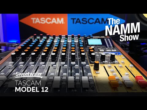 TASCAM Model 12 Digital Mixer/Recorder at Winter NAMM 2020