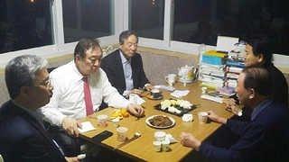 권노갑ㆍ정대철, 순창行…정동영 국민의당 합류 요청