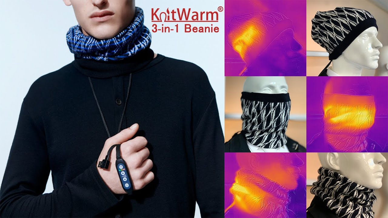 KnitWarm 3-in-1 Beanie ニットウォーム3-in-1 ビーニー