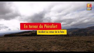 En tornar da Pèirafòrt - Accident au retour de la foire Conte de Marie Poussergue Thiézac