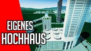 Cities Skylines Industries Deutsch | EP 55 | eigener Wolkenkratzer | gameplay | german Video