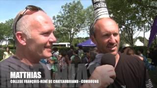 MATTHIAS - JEUX UNSS 2014 - COLLEGE FRANÇOIS-RENÉ DE CHATEAUBRIAND COMBOURG