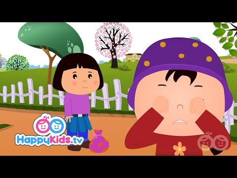 Lucy Locket Lost Her Pocket - Nursery Rhymes For Kids And Children | Baby Songs | HappyKids