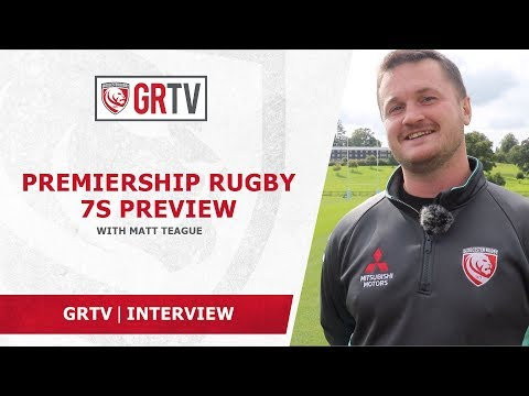 Matt Teague on Premiership Rugby 7s – '…it's a great opportunity for the boys…'