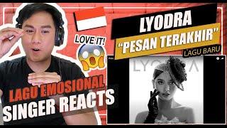 Lyodra Pesan Terakhir Singer Reaction