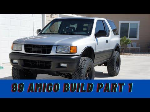 1999 Isuzu Amigo Build Part 1   Dale Walker