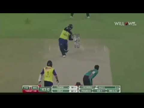 Fall of wicket of world xi in 1st t20