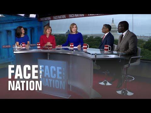 Face The Nation: Ramesh Ponnuru Susan Page Julie Hirschfeld Davis Jamelle Bouie