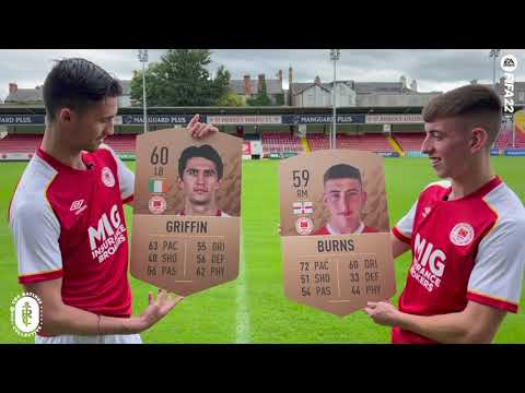 Griffin & Burns Reveal Their FIFA 22 Ratings