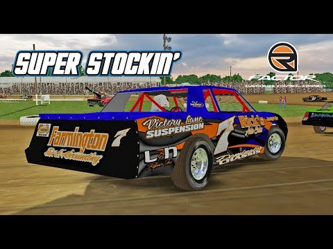 rFactor: Super Stockin' (Stock Cars @ Brownstown)