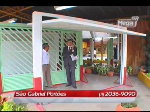 Portão garagem em SP - Diversos modelos de Portões com fabricação própria -  Loja São Gabriel - YouTube 9c76b6eb14b45