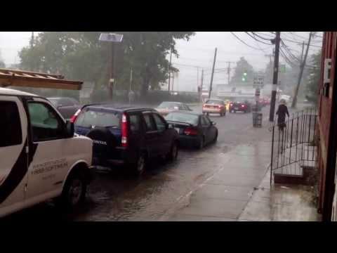 Rain rain... Elizabeth   Port nj..