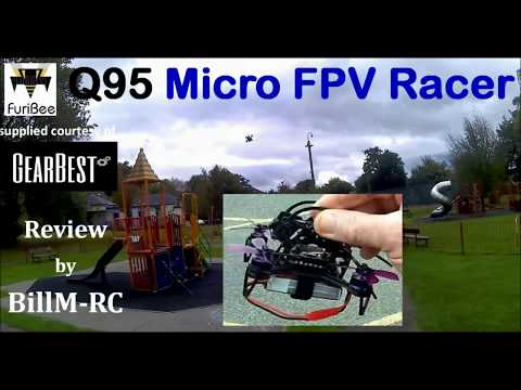 Furibee Q95 review - Brushless Micro FPV Racing drone