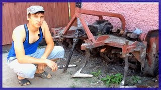 как сделать фрезу своими руками к трактору