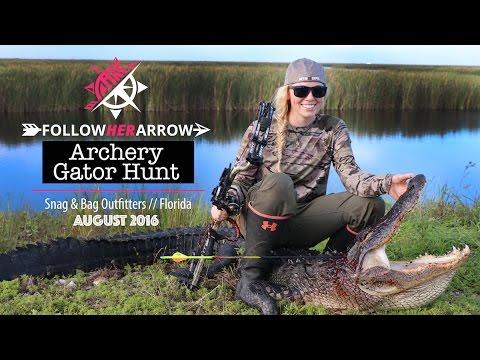 Jessica Taylor Byers | FLORIDA ARCHERY GATOR HUNT