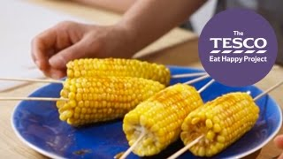 Zingy Corn On The Cobs Are A Tasty Twist On The Traditional Recipe - Eat Happy Project