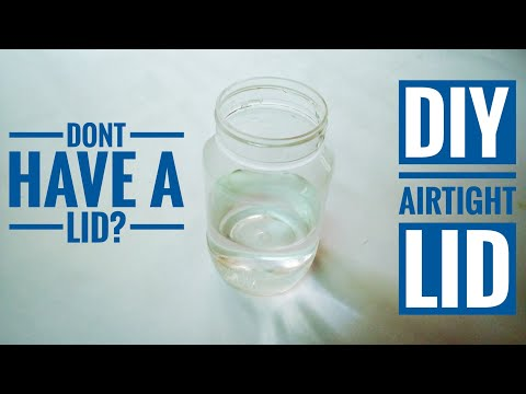DIY Airtight Lid For Any Container   Only Balloon Needed   DIY - CrazyCrafts